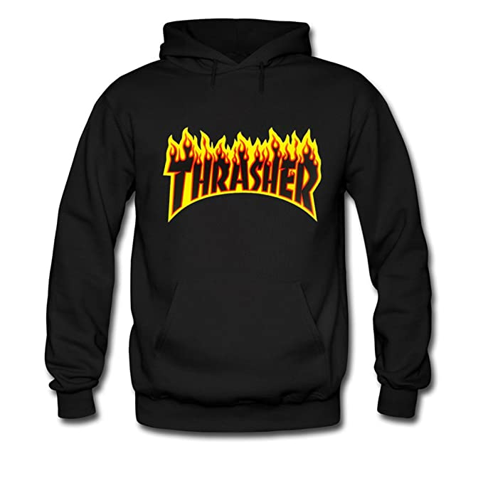 d7bc52c4134a Thrasher Flame For Boys Girls Hoodies Sweatshirts Pullover Tops  Amazon.ca   Clothing   Accessories