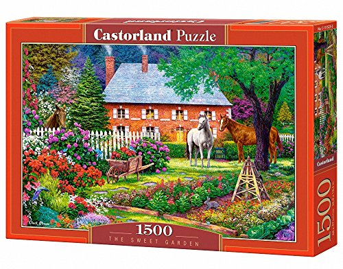 Castorland C 151523 The Sweet Garden Puzzle Da Pezzi