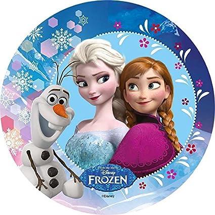 Oblate Frozen L11 Tortenaufleger Geburtstag Party Tortenbild Fondant