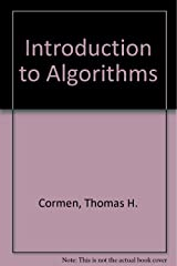 Introduction to Algorithms Paperback