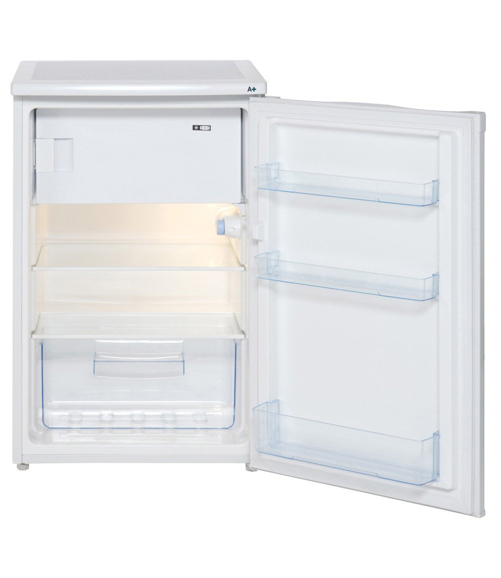 Counter Fridge Lec R5511w Fridges Amazoncouk Large Appliances