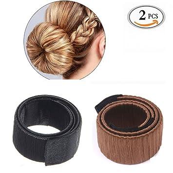 Bun Maker Sikenuo Fashion Women Hair Styling Disk Hair Clip