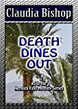 Front cover for the book Death Dines Out by Claudia Bishop