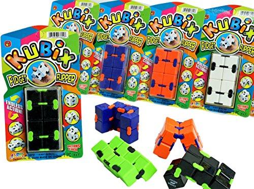 2GoodShop Kubix Speed Cube by JA-RU | Fidget Cube Flip It Endlessly Pack of 12 | Item #3802 by 2GoodShop (Image #3)