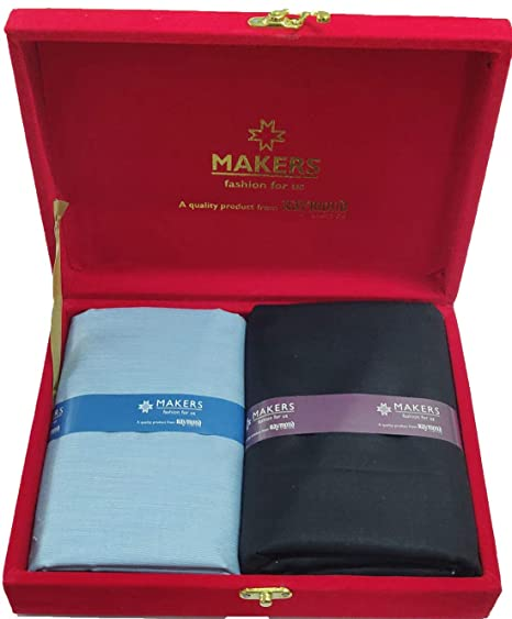 5e68af303 Image Unavailable. Image not available for. Colour  Raymond Makers Men s Unstitched  Shirt   Trouser Fabric Combo ...