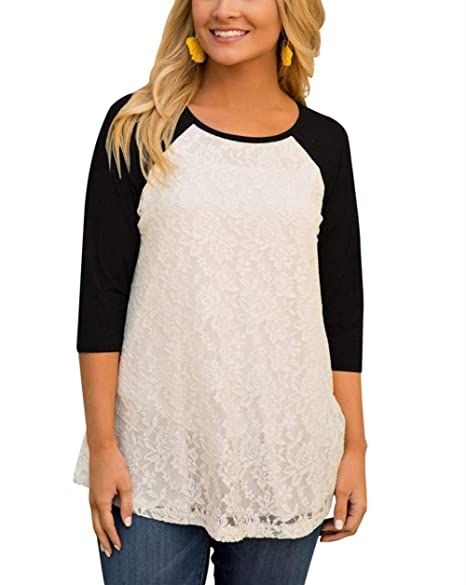 Amazon.com: ZZER - Camiseta de manga corta para mujer ...