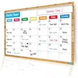 Magnetic Monthly Planner / Flexible Dry Erase Board / Calendar / Meal Planner / Bright Colors / Increases Productivity / Keeps you Organized / Chore / Academic / Diet / Exercise / Medicine Chart