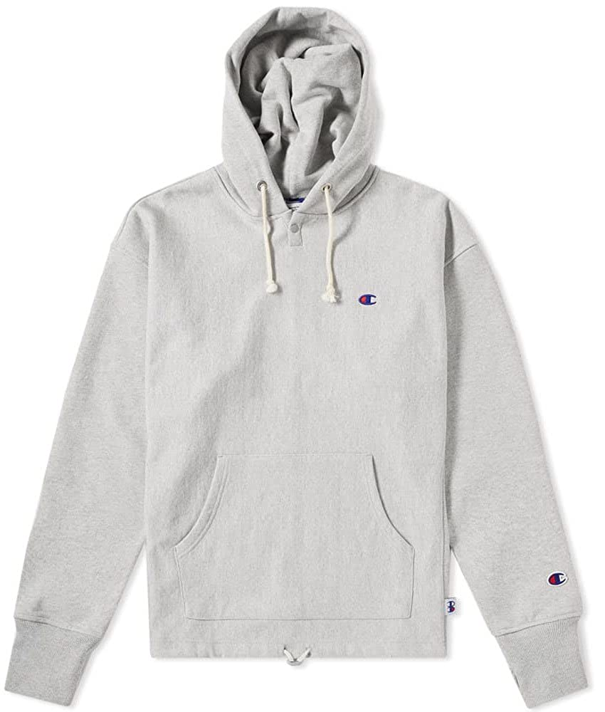 Champion x Beams Herren North-South-East-West Hoodie Grau