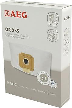 AEG GR28S GR 28S, 3.5 litros, Sintético, Blanco: Amazon.es: Hogar