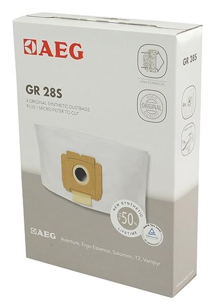 AEG GR28S GR 28S, 3.5 litros, Sintético, Negro