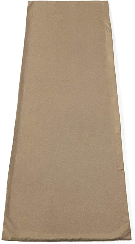 Xtreme Comforts Microfiber Body Pillowcase 110 GSM Ultra Soft Tan Breathable Weave Provides Superior Air Circulation