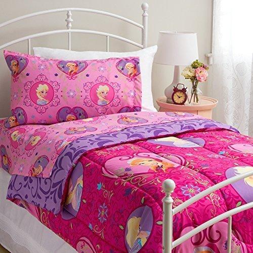 Disney Frozen Twin Size Complete Bedding Set Wth Comforte...