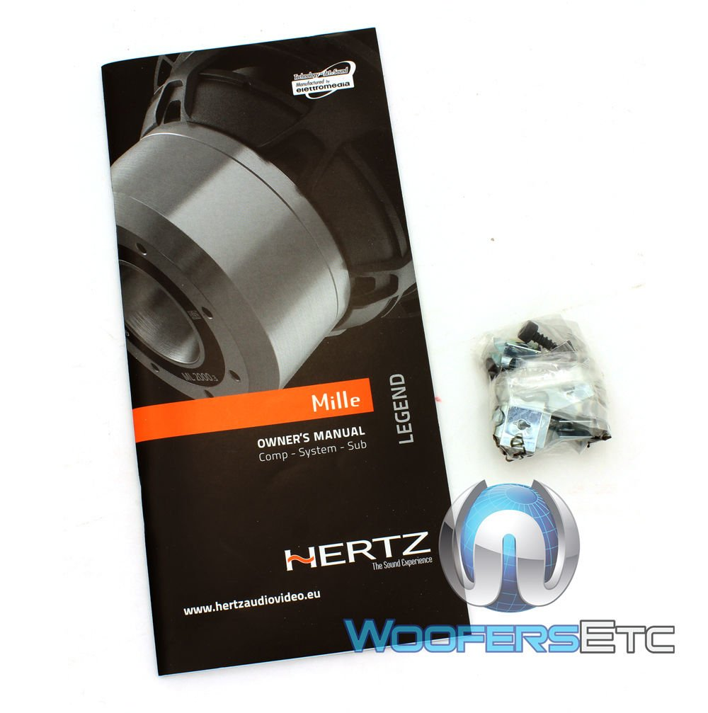 HERTZ MLCX 2 TW.3 MILLE LEGEND 300W CROSSOVERS FOR COMPONENT SPEAKERS PAIR NEW