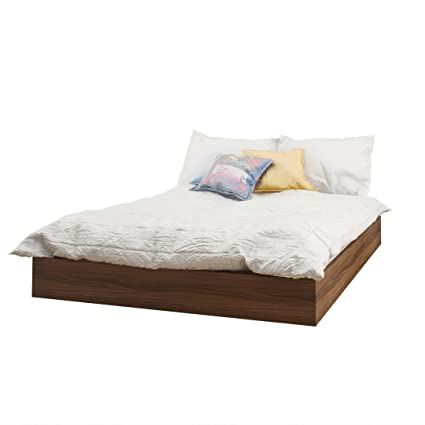 nexera furniture website. Nexera 345431 Alibi Platform Bed, Full, Walnut Furniture Website