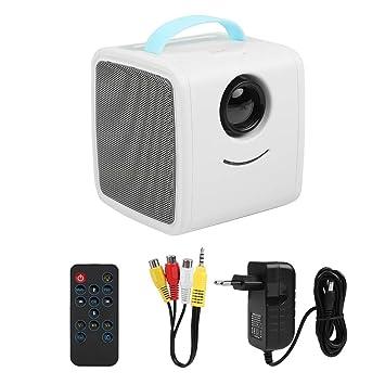 Redxiao Mini proyector, LED Exquisito Elegante portátil ...