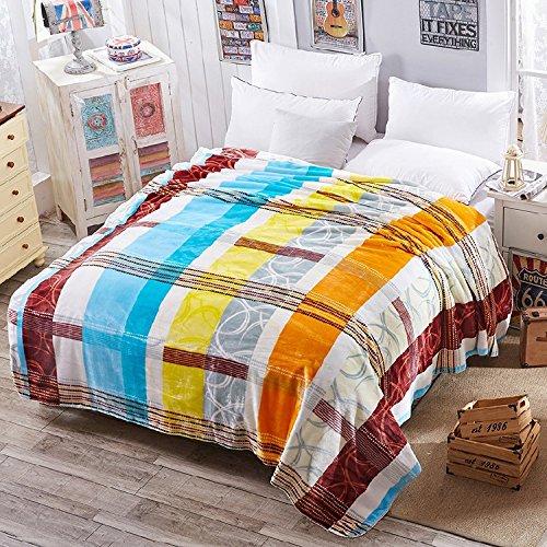 CNMQ-Blanket double thick warm winter blanket sofa blanket,7,150X200cm