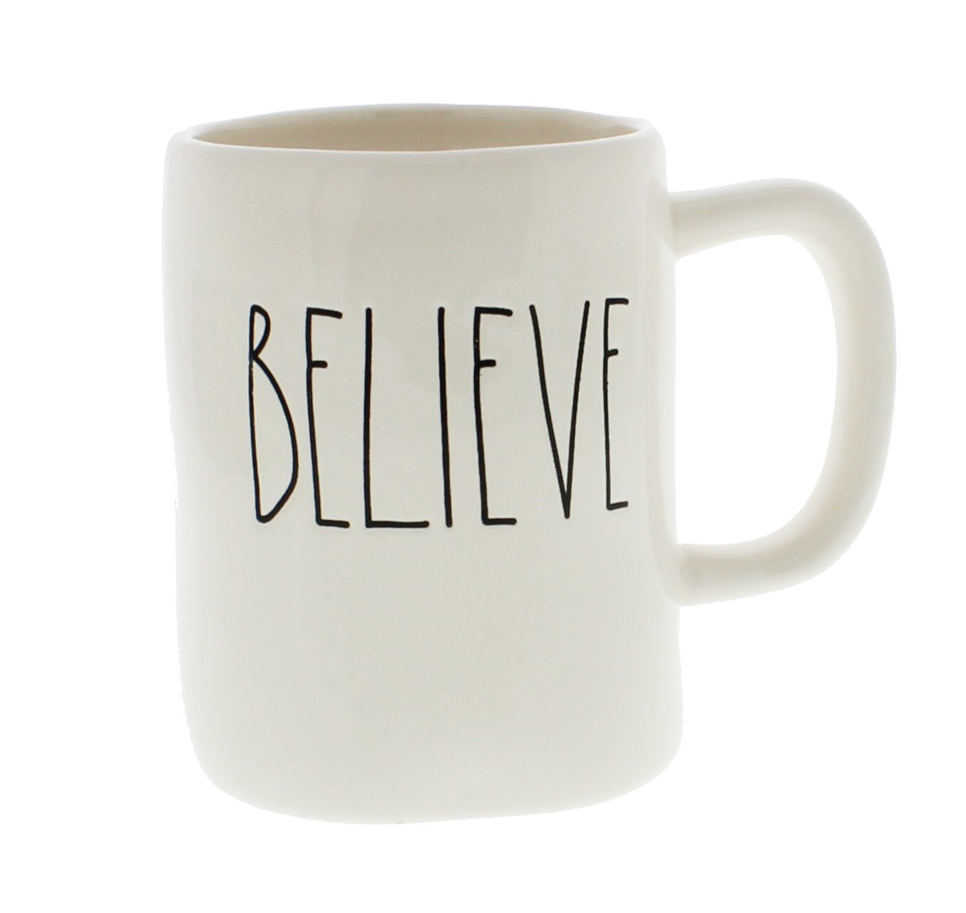 Rae Dunn BELIEVE Mug - Artisan Collection