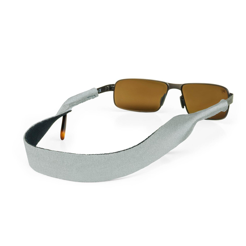 Croakies (CROCY Original Sport Eyewear Retainer Silver, 16''