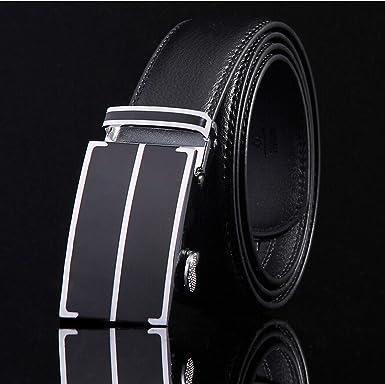 Mens Business Fashion Formal Casual Style Belt Designer Leather Strap Male Man Belt Automatic Buckle Belts For Men Top Quality,19,125cm