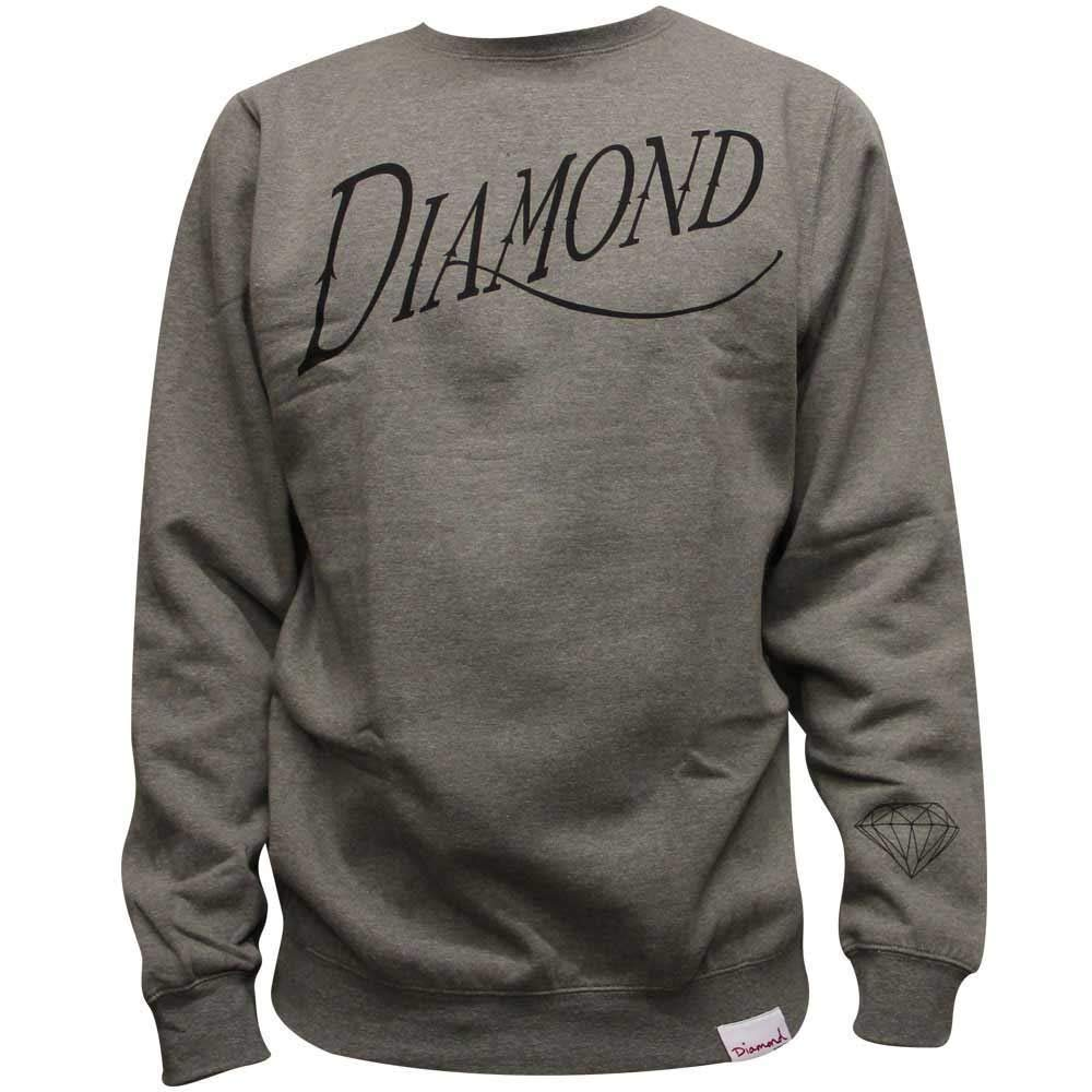 Diamond Supply Co. Old Script Sweatshirt Heather