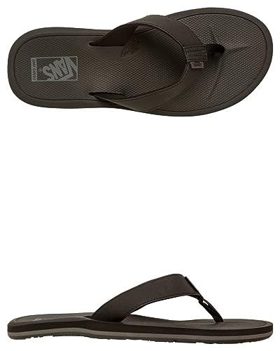 Vans NEXPA SYNTHETIC Black   Black   Pewter Mens Sandals-Men 9.0 0b7ac0005ae2