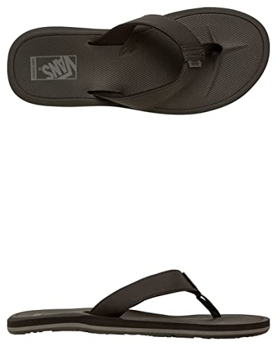 e9b7e85f52 Vans NEXPA SYNTHETIC Black   Black   Pewter Mens Sandals-Men 8.0