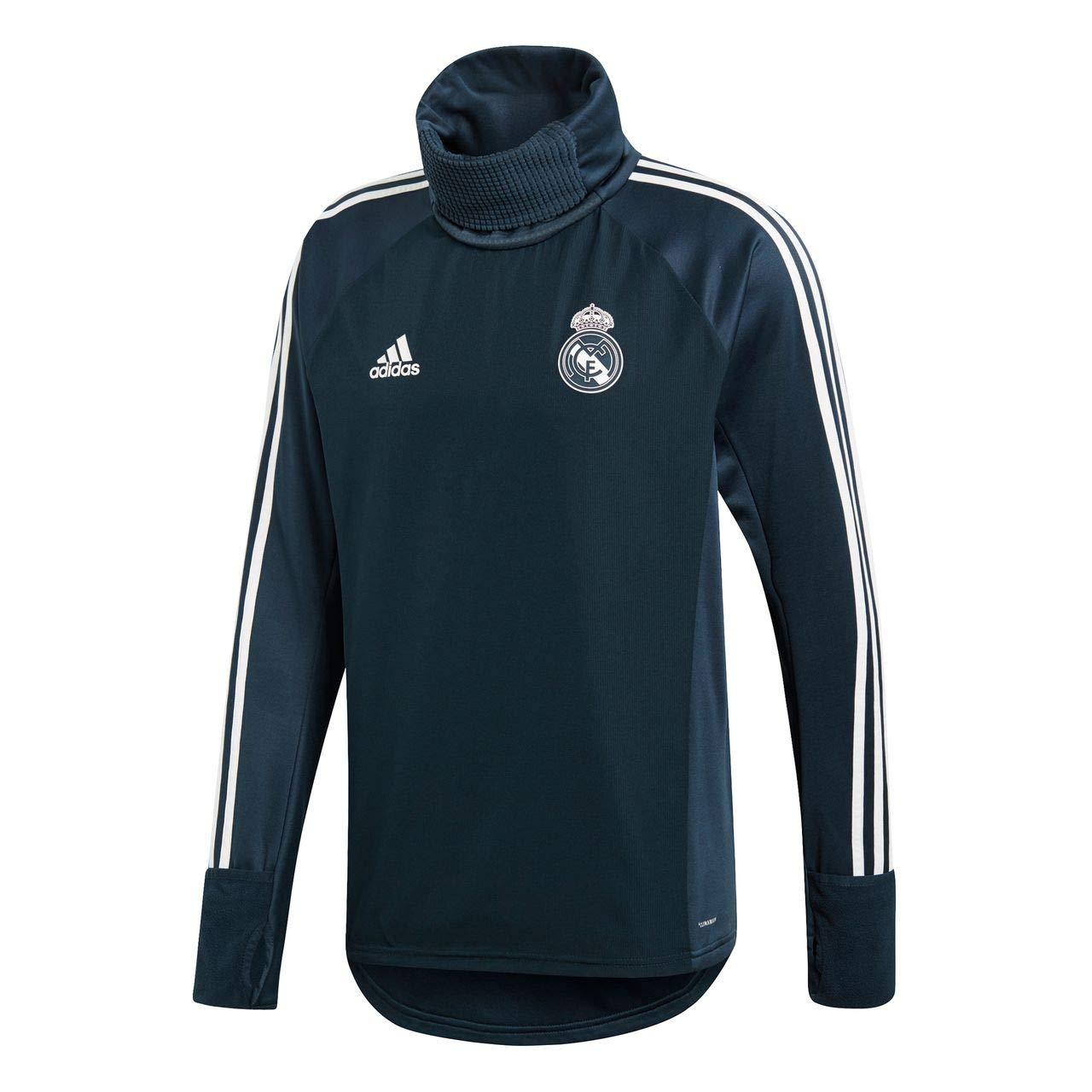 adidas Warm Sudadera-Real Madrid Temporada 2017/2018, Hombre: Amazon.es: Deportes y aire libre