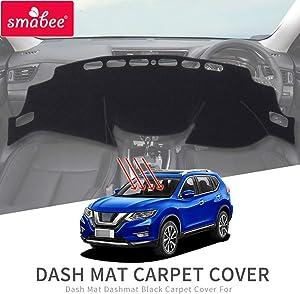 SMABEE Dashboard Cover Mat, DashMat for Nissan Rogue 2016~2019 SL SV Anti-Slip Dash Board Cover Sunshade Mat Carpet Accessories