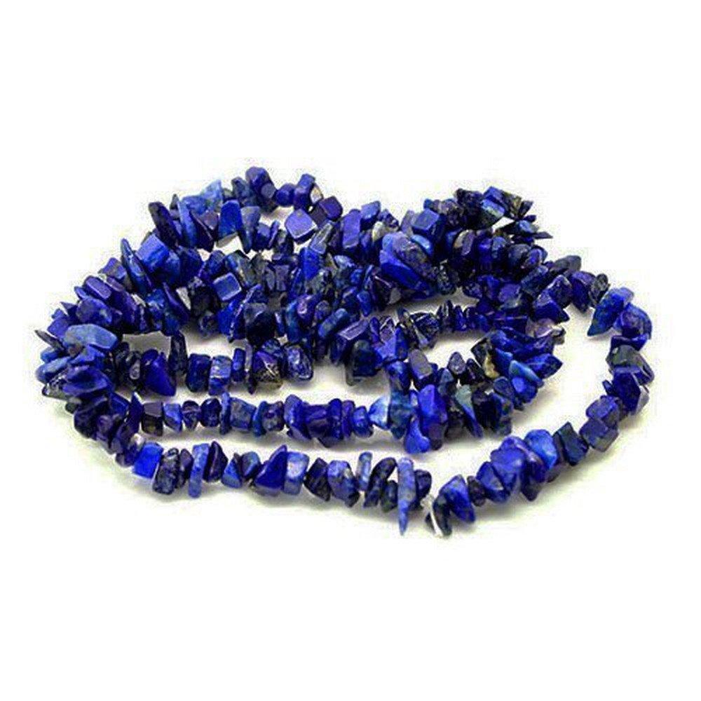 "Wadoy 32"" Strand Gemstone Lapis Lazuli Chip Beads GS3196"