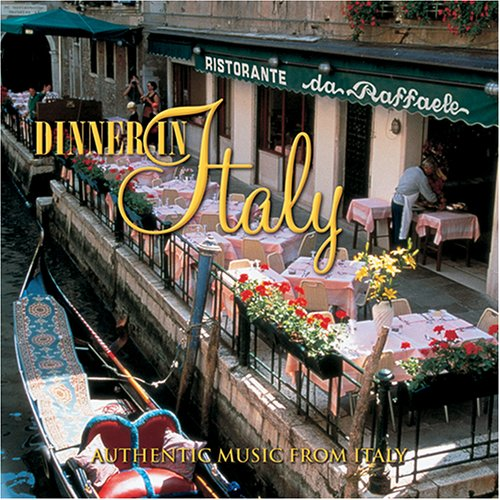 Dinner in Italy Angelo Petisi Audio CD