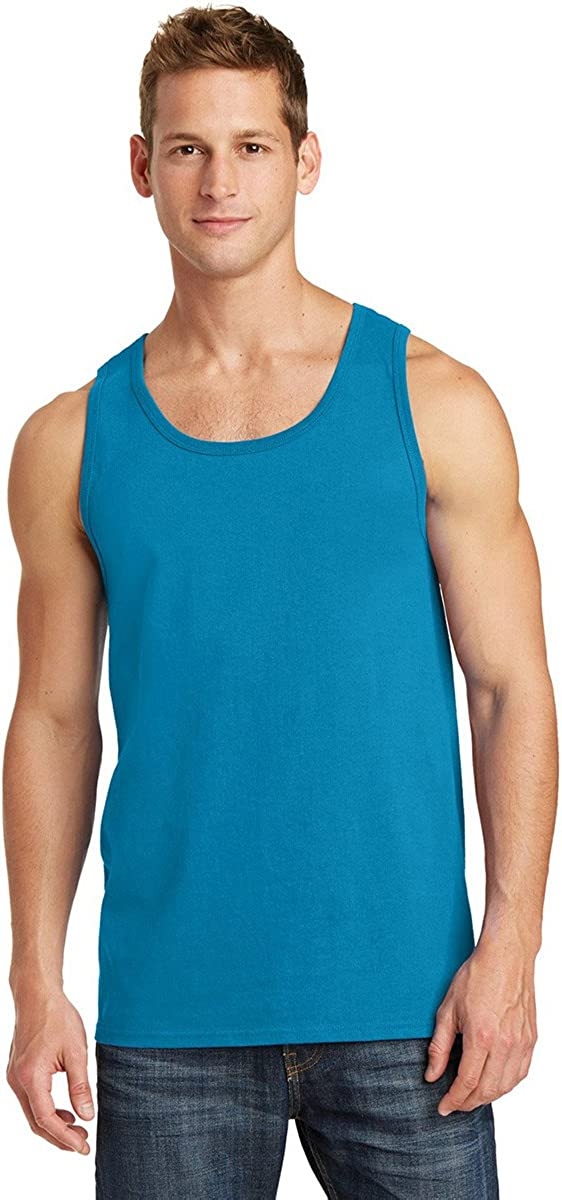 Port /& Company Mens Comfortable Cotton Tank Top/_Athletic Heather/_S