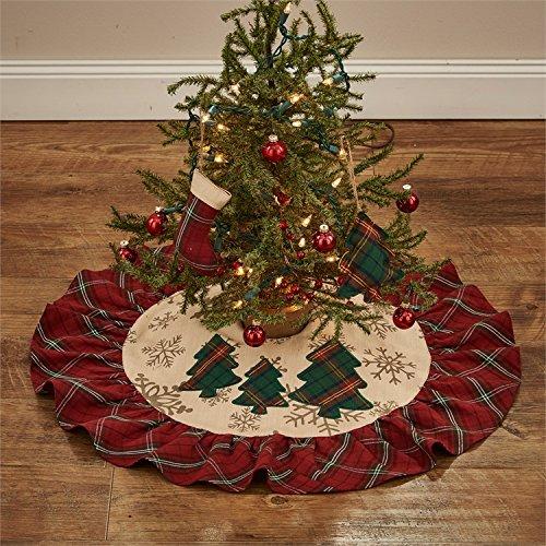 Park Designs Highland Holiday 24'' Tree Skirt