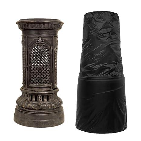 Amazon.com: Laishalaiku - Cubierta de chimenea para patio ...