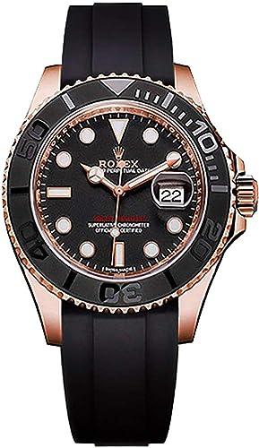Rolex Yacht-Master 40 - Reloj de pulsera para hombre, oro rosa macizo de