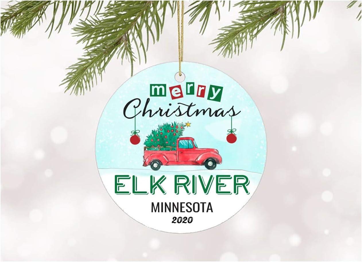 Elk River Christmas Gifts 2020 Amazon.com: Christmas Ornaments Tree 2020 Elk River Minnesota Xmas