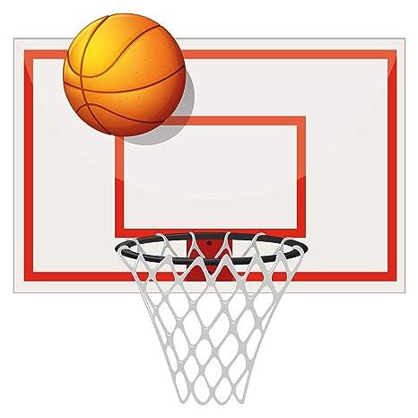 Pegatina de pared América cuarto de los niños Baloncesto con ...