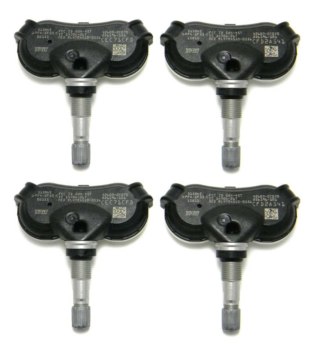 FCC ID: GQ4-45T, P//N: 42607-0C070 TPMS OEM Toyota Tire Pressure Monitoring System Transmitter