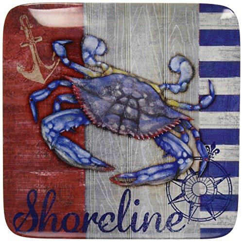 Certified International Corp Maritime Melamine Crab Dinner P