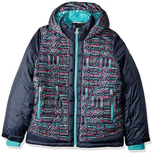 GEO Spyder Jacket Girl's Frontier Print Nora Baltic IIPTqwg
