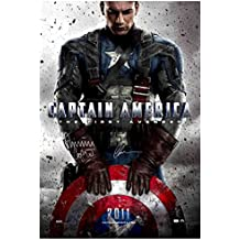 Chris Evans and Dominic Cooper Autographed 27×40 Captain America: The First Avenger Original Movie Poster