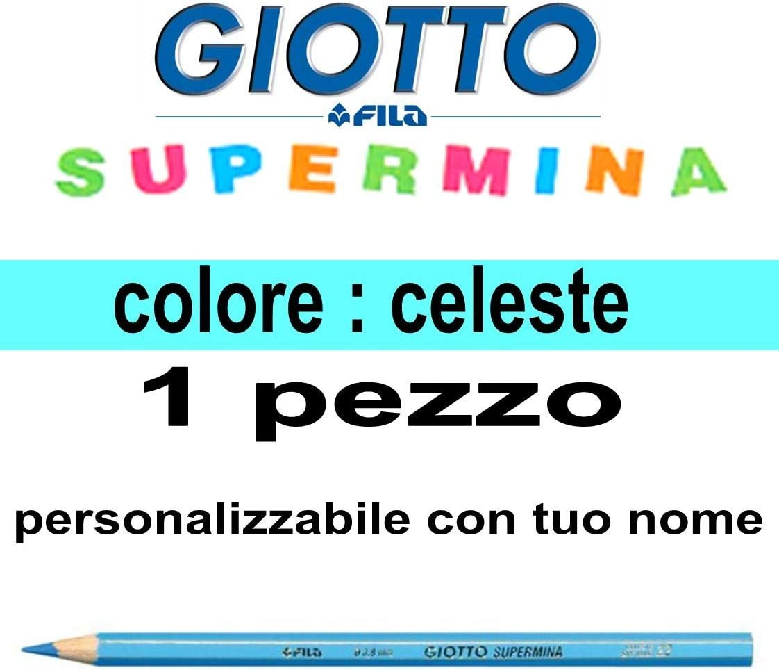 numero 22 Pastello Giotto Supermina celeste da 3,8 mm giotto supermina sfuso