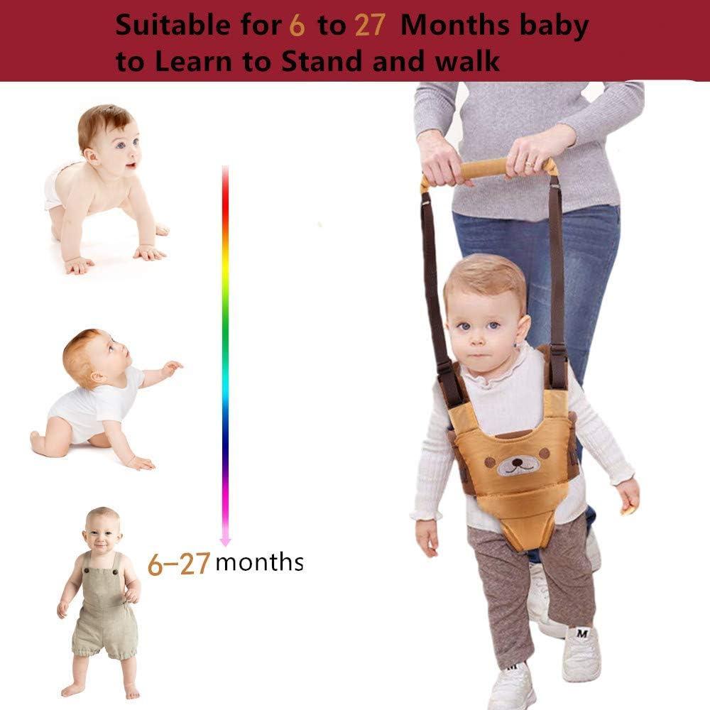 aide /à la tenue debout et /à la marche aide /à la marche pour b/éb/é respirant pour 6-27 mois b/éb/é nourrisson tout-petits bambin enfants-jaune Harnais de marche pour b/éb/é