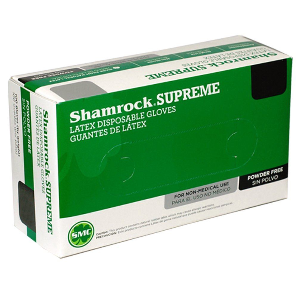 Shamrock 60501-S-cs Work, Cheap No Powder, Thin, ,Rubber, Small, Natural by Shamrock