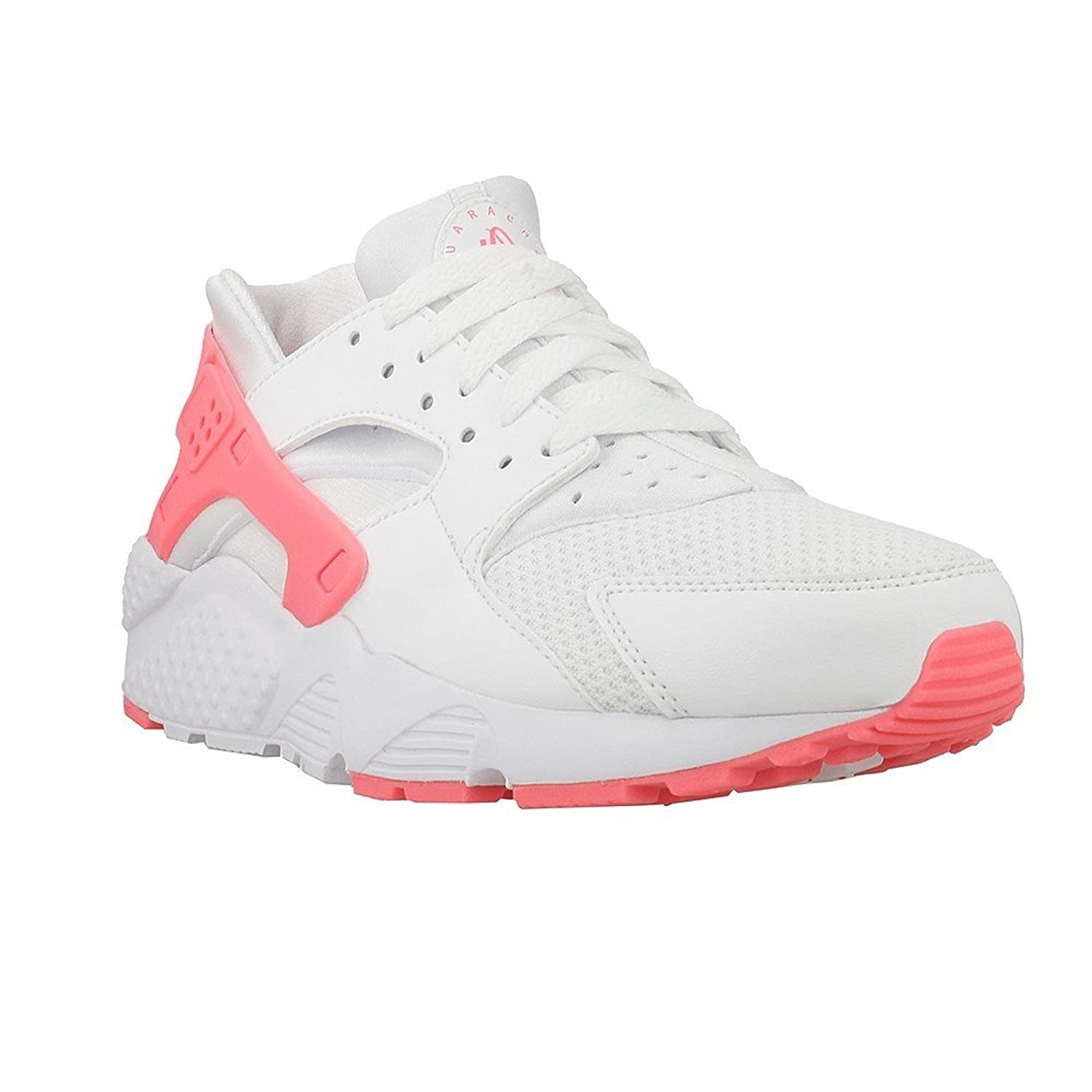 Nike Huarache Run SE Summit White/Summit White (Big Kid)