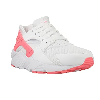 nike huarache white and pink