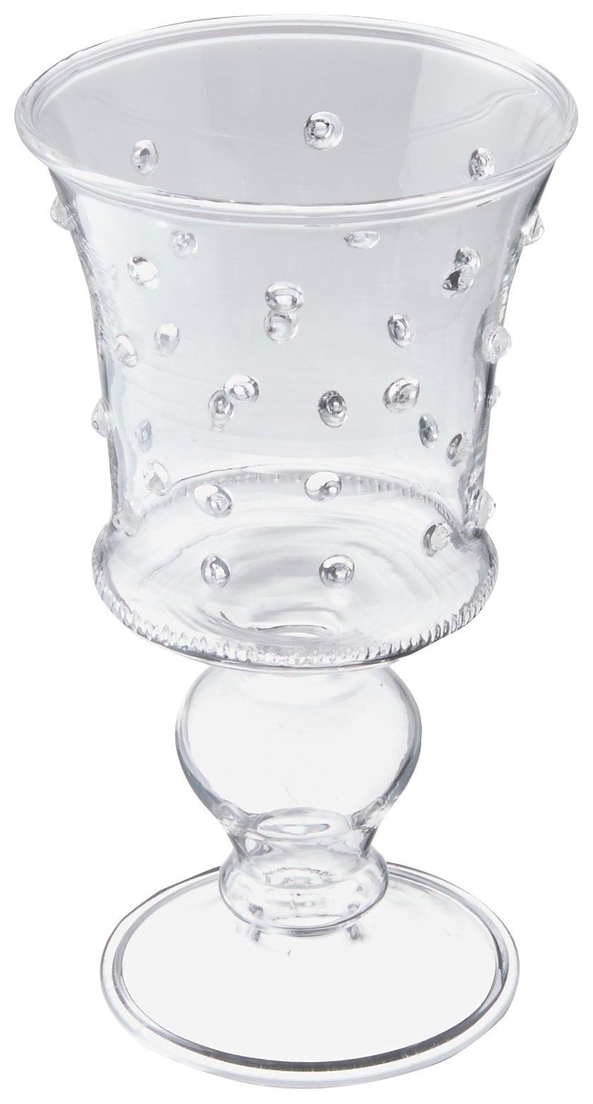 Abigails La Boheme 3-Ounce Clear with Small Liqueur Glass with Dots