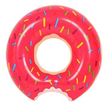 Doughnut 120 cm adultos Super Donut gran grueso hinchable flotador ...