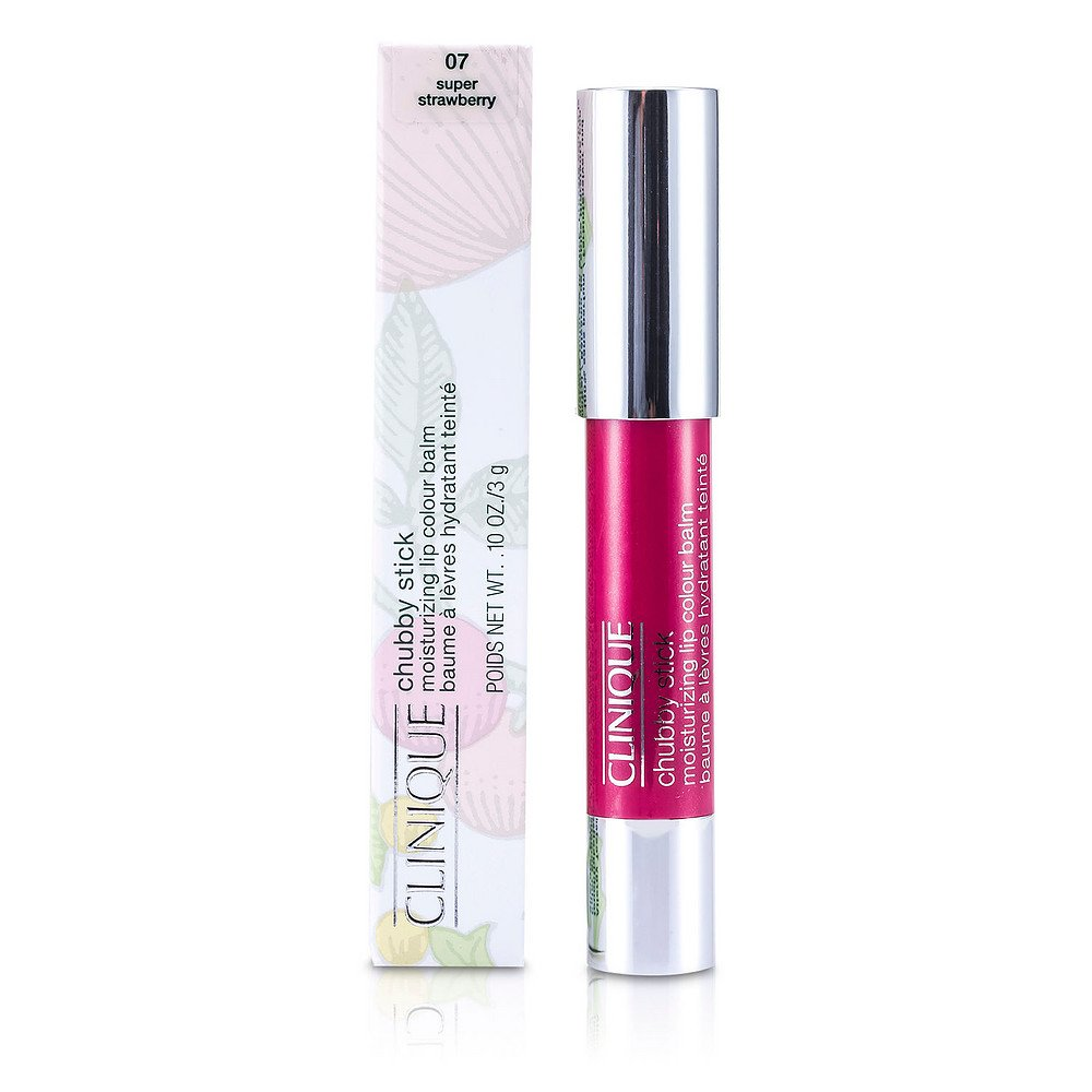 CLINIQUE by Clinique Chubby Stick - No. 07 Super Strawberry --3g/0.10oz for WOMEN ---(Package Of 3)