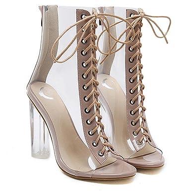 d37ca965f442b1 Malloom® Römische Schnalle Schuhe Frauen Sandalen Sexy Sandalen High Heels  Frau Stiefeletten Römersandalen mit Hohen
