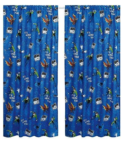 Universe 54″ Drop Childrens Bedroom Curtains (54″ Drop)